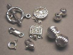 Wholesale Findings, Stelring Silver Jewelry Findings
