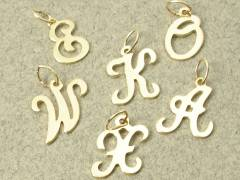 Gold Filled Initial Charm
