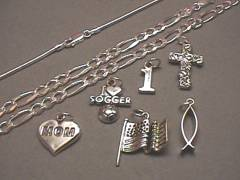 Wholesale Sterling Silver Charms and Chains
